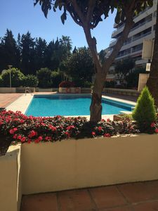 Photo for Apartment in Parque Marbella exclusive complex, 3 pools, 2 mins to sea. Acc1-3-A