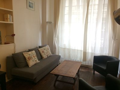 Photo for 2 rooms furnished comfort, between Montmartre and the Batignolles.