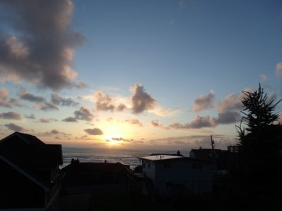 Photo for Roads End - Ocean View - Short Walk to Beach - Pool Table- Family Friendly