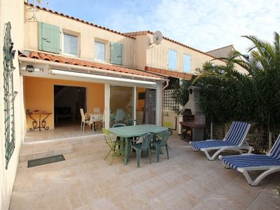 Photo for Lovely villa located CLOS DE SOCORRO, 2 bedrooms with Airco, PORTIRAGNES PLAGE