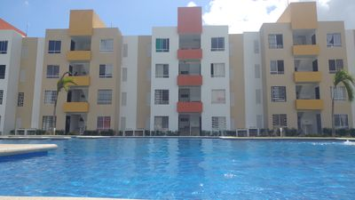 Photo for Ground Floor Apartment in front of the pool in Playa del Carmen QRoo Mexico