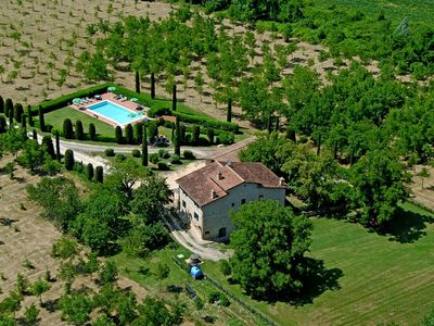 Photo for 6BR Villa Vacation Rental in San Gimignano, Tuscany