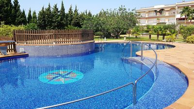 Photo for Golden Beach Apartment 1 Bedroom, with common pool and large private terrace.