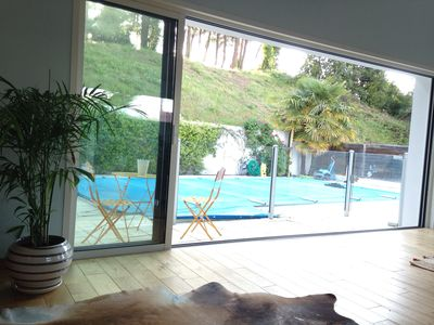 Photo for House with pool Anglet beach and forest