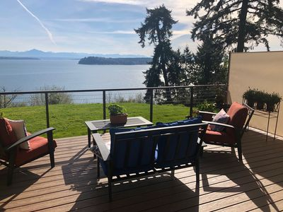 Photo for FIRST LIGHT-New Listing! Puget Sound/Mountains Panoramic Sunrise View