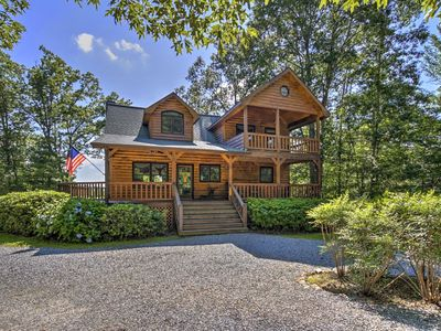 Photo for Find your special place in the North Georgia Mountains at this charming 3 Bedroom abode nestled in t