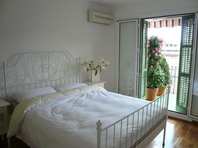 Photo for Sunny roof terrace, town center, ideal location, tastefully renovated