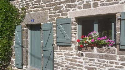 Photo for A Charming Breton Stone Cottage Ideal for 2  YOU WILL BE ABLE TO SELF ISOLATE.