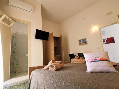 Photo for Studio apartment in the center of Parabita with Washing machine, Air conditioning, Balcony (1014861)
