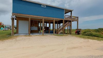 Photo for 2017 Beach Front Construction located in the HEART of Crystal Beach - Aria