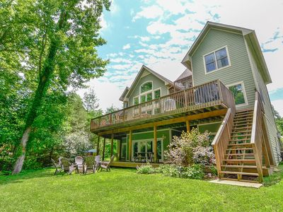 Lakefront Home w/Dock Slip, Hot Tub, Pool Table, & Cozy Fireplace!