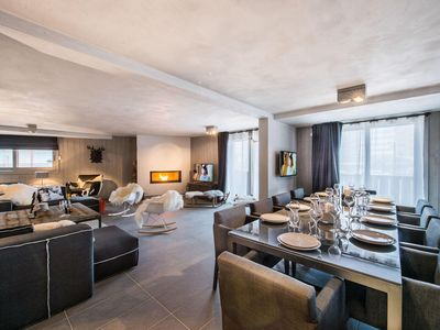 Photo for Abonda: Large refined and design apartment