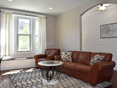Photo for Comfy Tower Grove Apartment (12 minutes to downtown)