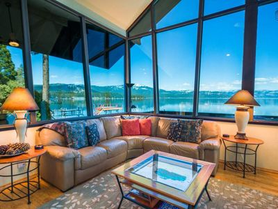 Photo for New! Luxury Lakefront Home, Private Dock, Panoramic Lake Views: The Mariner