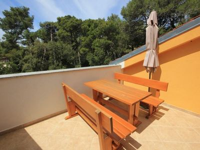 Photo for Two bedroom apartment with terrace Artatore, Lošinj (A-8022-d)
