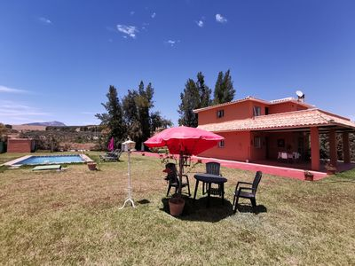 Photo for RURAL HOUSE WITH POOL, CHALET GIRALDA.
