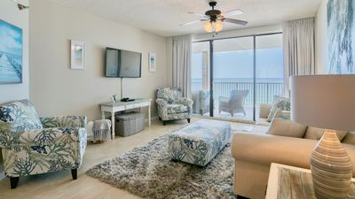 Photo for *New Rental* Gorgeous updated beachfront condo in OBA! Outdoor living area!