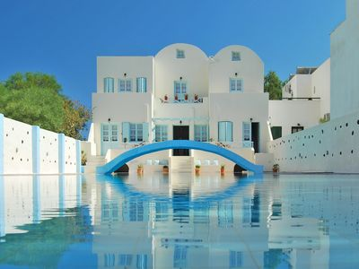 Photo for Santorini Holiday Rental with Amazing Pool close to Black Beach.