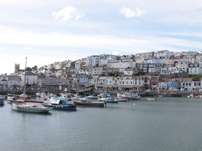 Photo for BUNTING BRIXHAM - Beautiful marine town house with extensive sea views