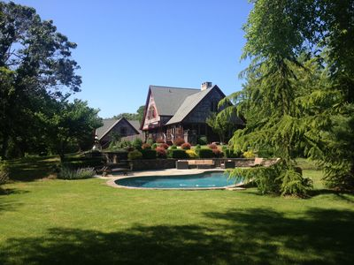 Photo for Private Beautiful Home on 2 Acres with Large Pool