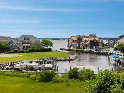 Photo for NEW LISTING! Luxury waterfront home w/bay views, shared pools & tennis courts