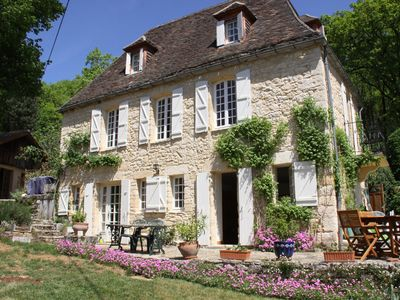 Photo for Lovely ancient Périgord house in La Roque-Gageac, close to Sarlat