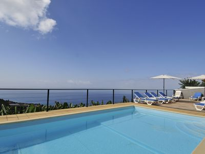 Photo for *Newly renovated* Amazing sea views, free wi-fi, Private Pool & Games Room