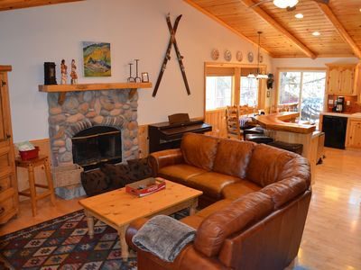 Photo for SugarBearLodge~Spa~BestSledHill~GreatReviews~PingPong~NearForest~Immaculate