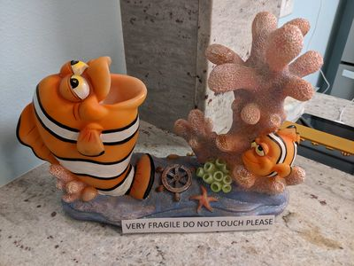 Loaded Clownfish- Famous Artist on loaner Display for 2 months