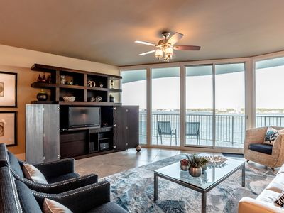 Photo for Stunning bay front condo at Caribe!! Brand new rental! Oversized, super luxury!