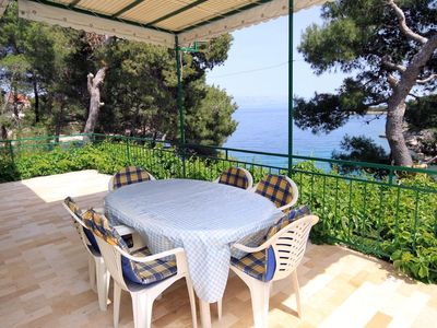 Photo for Two bedroom apartment near beach Basina (Hvar)
