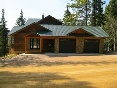 Photo for Lost Camp at Terry Peak With Garage Access, Hot Tub, Internet & Air Conditioning