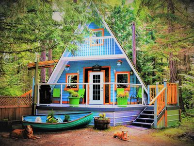 Photo for Stones Throw Cottage Retreat In Old Growth Forest