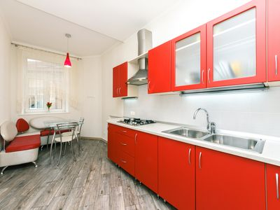 Photo for Neat 1 bedroom apartment in Maydan, Kreschatyk