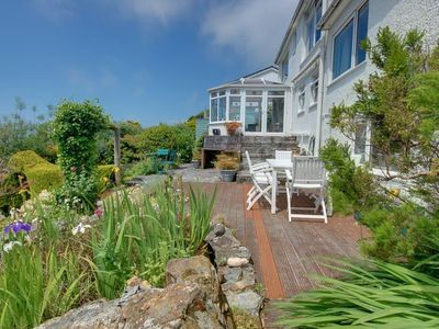 Photo for Holiday home in beautiful location, offering great sea views and a table tennis table