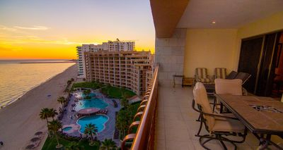 Photo for Beautiful ocean front 10th floor corner unit at the Sonoran Sun Resort