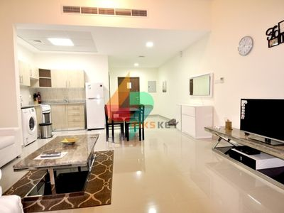 Photo for Spacious  Fully Furnished Studio Apartment in DAMAC Madison Residences, Majan