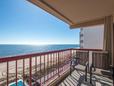 Photo for Coffee & Sunrises - Stay Oceanfront w/ Pool, Sun Deck & Wi-Fi