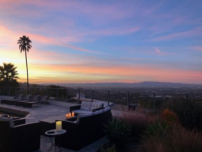Photo for HLW HILLS INCREDIBLE VIEWS MID CENTURY MOD DESIGN MASTERPIECE 4 BD, POOL PRIVATE