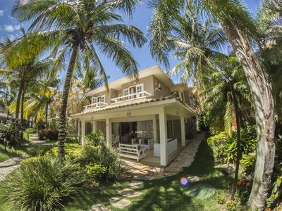 Photo for House with Five Suites in Gated Community with Direct Access to Geribá Beach