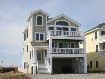 Photo for Off Course: Captain's watch with ocean and sound views, pet friendly, private pool and hot tub.