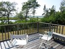 Walters Cabin - Relax on the deck and enjoy the ocean view.