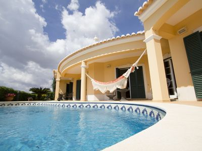Photo for Fantastic villa near the beach with private pool and sea view