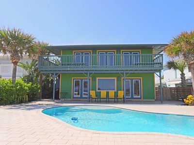 Photo for Pelican Pass Oceanfront Pool Home - Great for large families! 2905H