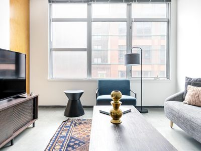 Photo for Smart South End 2BR w/ Doorman, W/D in Unit, by Blueground