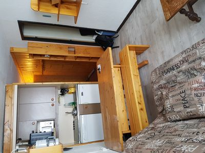 Photo for 2-room apartment sleeps 6 at the foot of the slopes