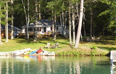 Photo for Lakefront Cottage on All Sports Long Lake-Near Great Golf