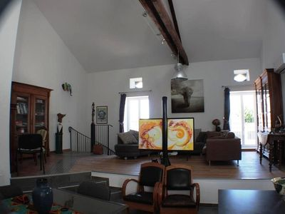 Photo for Valréas, Provence, two private rooms in spacious and bright loft