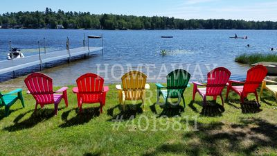 Photo for Lake Front Year Round Home On Angle Pond....