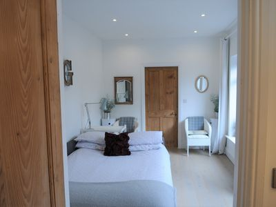 Photo for 'The Snug', near York: a stunning, modern studio at Old Station Master's House.